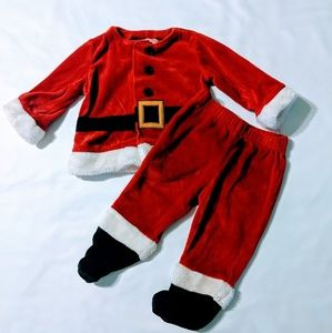 Boys 6/9 Months Holiday Santa Outfit